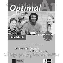 Рабочая тетрадь Optimal A1 Arbeitsbuch+CD