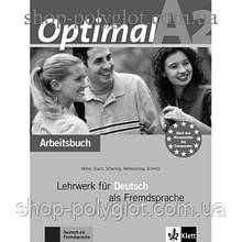 Рабочая тетрадь Optimal A2 Arbeitsbuch+CD