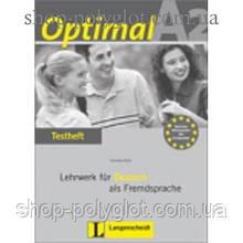Тесты Optimal A2 Testheft+CD
