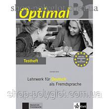 Тесты Optimal B1 Testheft+CD