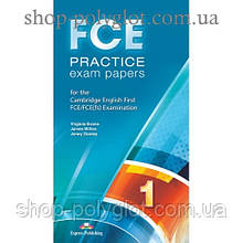 Диск FCE Practice Exam Papers 1 (for the updated 2015 exam) CD MP3