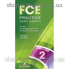 Диск FCE Practice Exam Papers 2 (for the updated 2015 exam) CD MP3