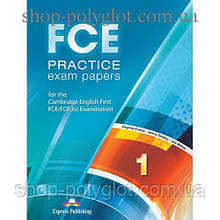 Учебник английского языка FCE Practice Exam Papers 1 (for the updated 2015 exam) Student's Book
