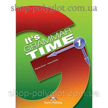 Підручник англійської мови it's Grammar Time 1 student's Book