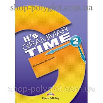 Підручник англійської мови it's Grammar Time 2 student's Book