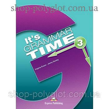 Підручник англійської мови it's Grammar Time 3 student's Book