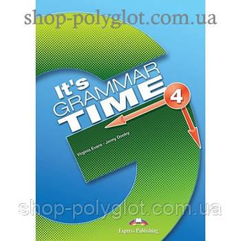 Підручник англійської мови it's Grammar Time 4 student's Book