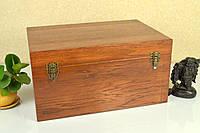 Сундук деревянный напольный из дерева дуба 50*32*26 см. / Сундук на подарок