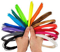 PLA пластик для 3D ручки (20 цветов по 10 метров)