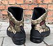 Зимние ботинки берцы камуфляжные мужские, фото 2