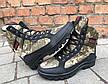 Зимние ботинки берцы камуфляжные мужские, фото 6