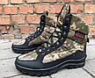 Зимние ботинки берцы камуфляжные мужские, фото 3