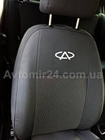 Чехлы Chery Jaggi 2006 - для сидений Чери Джагги авточехлы в салон качество