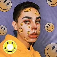 Желтые линзы для глаз. Желтые контактные линзы. Цветные линзы на Хеллоуин. Крейзи линзы.