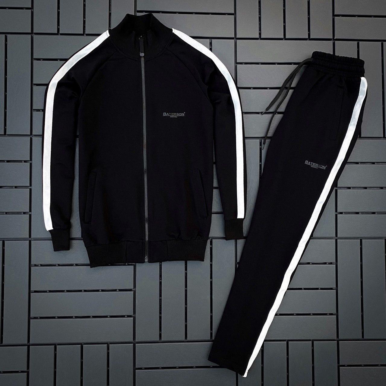 Мужской спортивный костюм Hozar черный