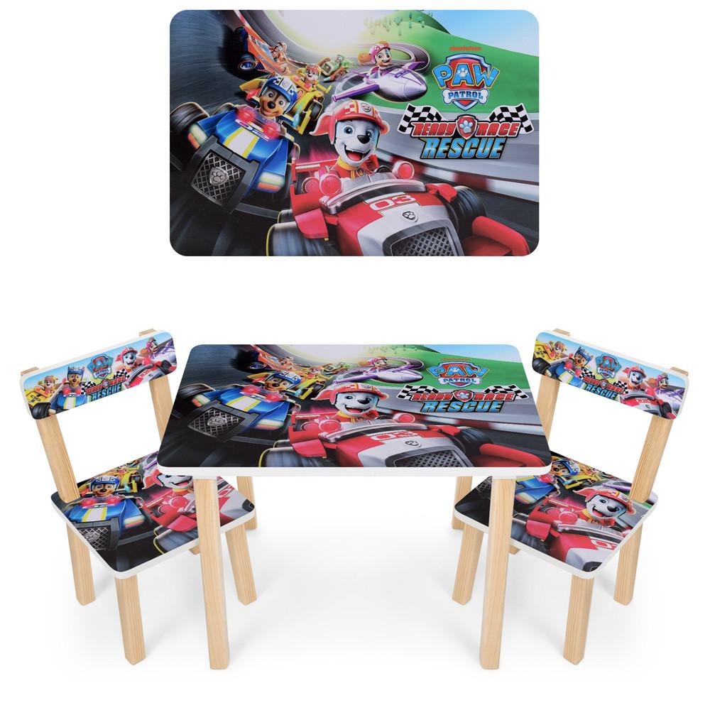 Детский столик со стульчиками 501-79  Щенячий Патруль