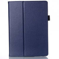 Кожаный чехол-книжка для планшета Lenovo Tab 2 A10-70L TTX с функцией подставки Голубой