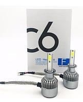 Комплект ксеноновых LED ламп для автомобиля C6-H1