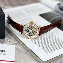 Мужские механические брендовые наручные часы  Brücke J055 Brown-Cuprum .ОРИГИНАЛ!, фото 3