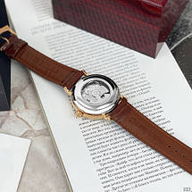 Мужские механические брендовые наручные часы  Brücke J055 Brown-Cuprum .ОРИГИНАЛ!, фото 2