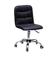 Кресло офисное на колесах SPLIT CH- OFFICE эко кожа , черный