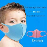 Маска Fasion Mask детская многоразовая защитная 3 шт/уп