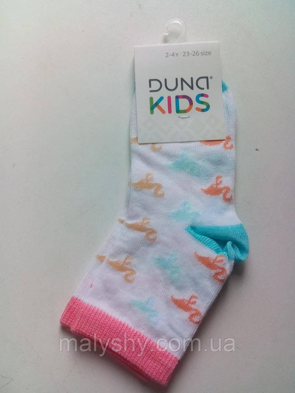 Детские носки демисезонные - Дюна р.16-18 (шкарпетки дитячі) 4560-2433-белый / шкарпетки дитячі