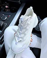 Женские кроссовки Dior D-Connect White \ Диор Д-Коннект Белые \ Жіночі кросівки Діор Д-Коннект Білі