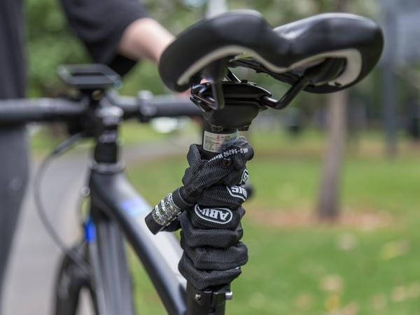 Велозамок ABUS 1200/60 Web Black, фото 2