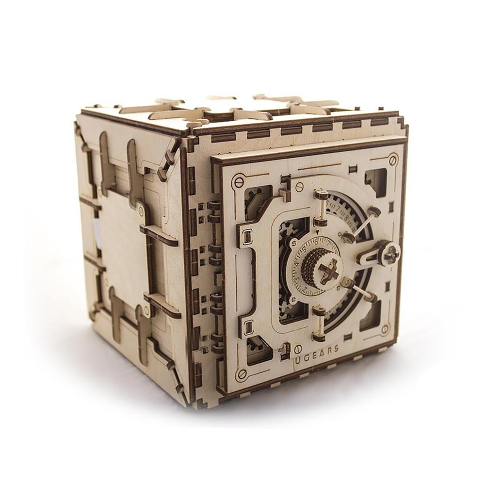 """Механічний 3D пазл """"Сейф"""", 179 елементів UGEARS (4820184120228)"""