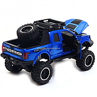 Машинка ігрова Автопром «Ford F-150» Синій зі світловими і звуковими ефектами (7865), фото 4