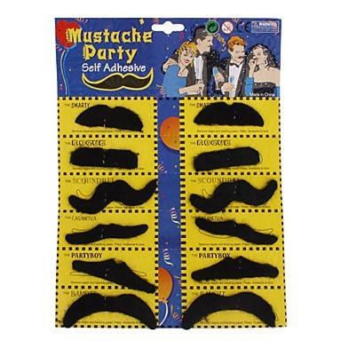 Накладные усы для вечеринок (mustache party) 6 шт , фото 2