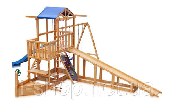 Детская площадка -  Капитан с зимней горкой  Babyland-13 SportBaby , фото 2