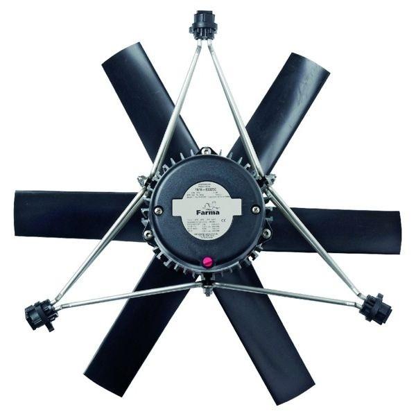 Дымоходный вентилятор, Ø 63 см
