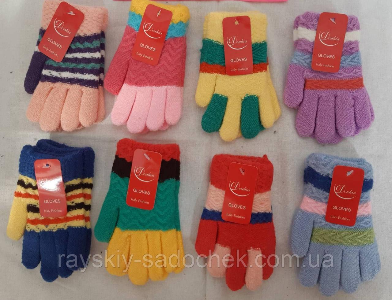 Одинарна дитяча рукавичка Gloves ( осінь - зима ) від 4 до 6 років.