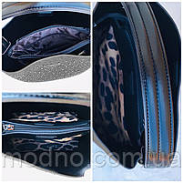 Женская замшевая сумка с камнями на и через плечо Polina & Eiterou, фото 9