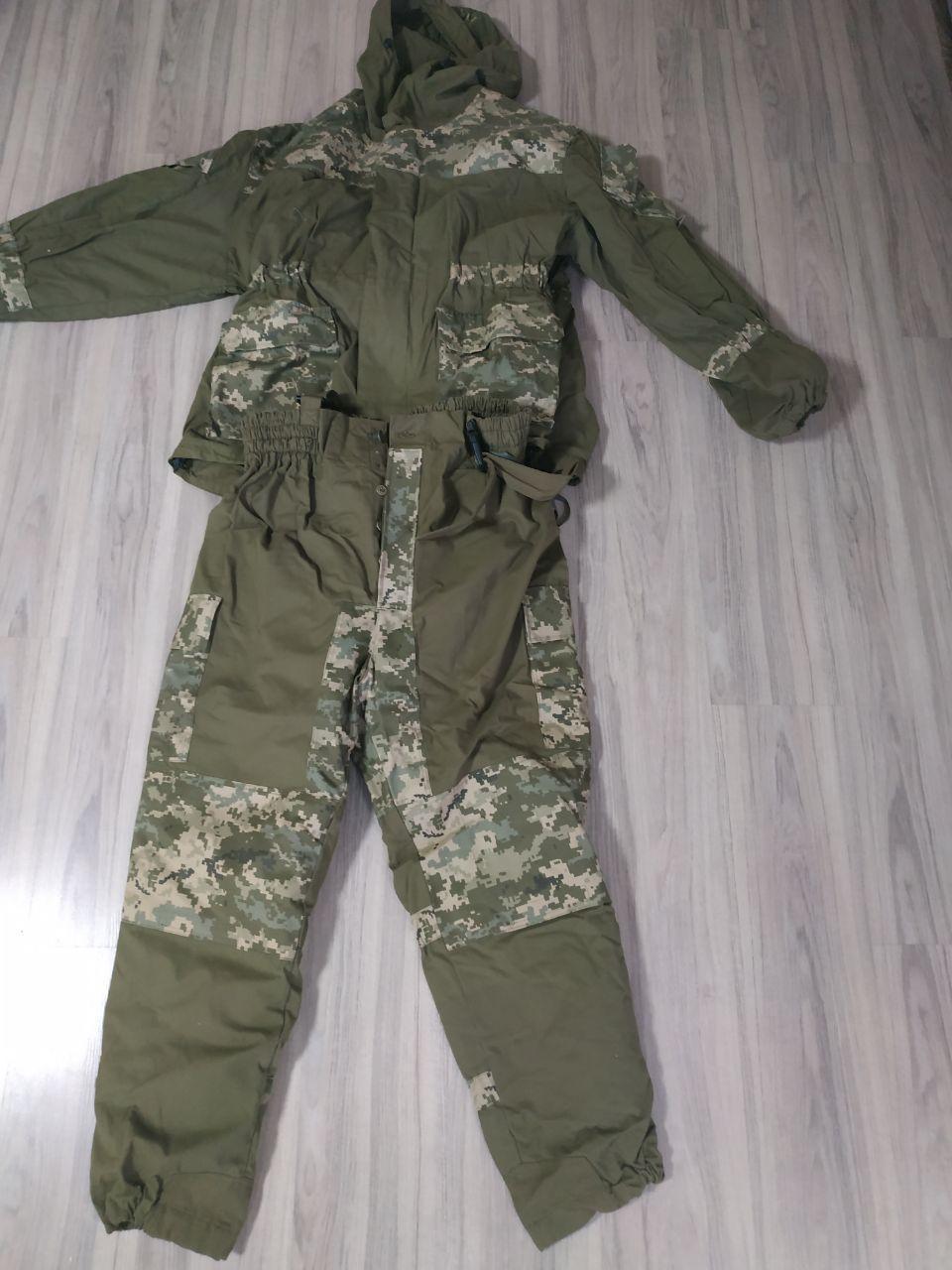 Военный зимний костюм-горка 60 размер. XXXL