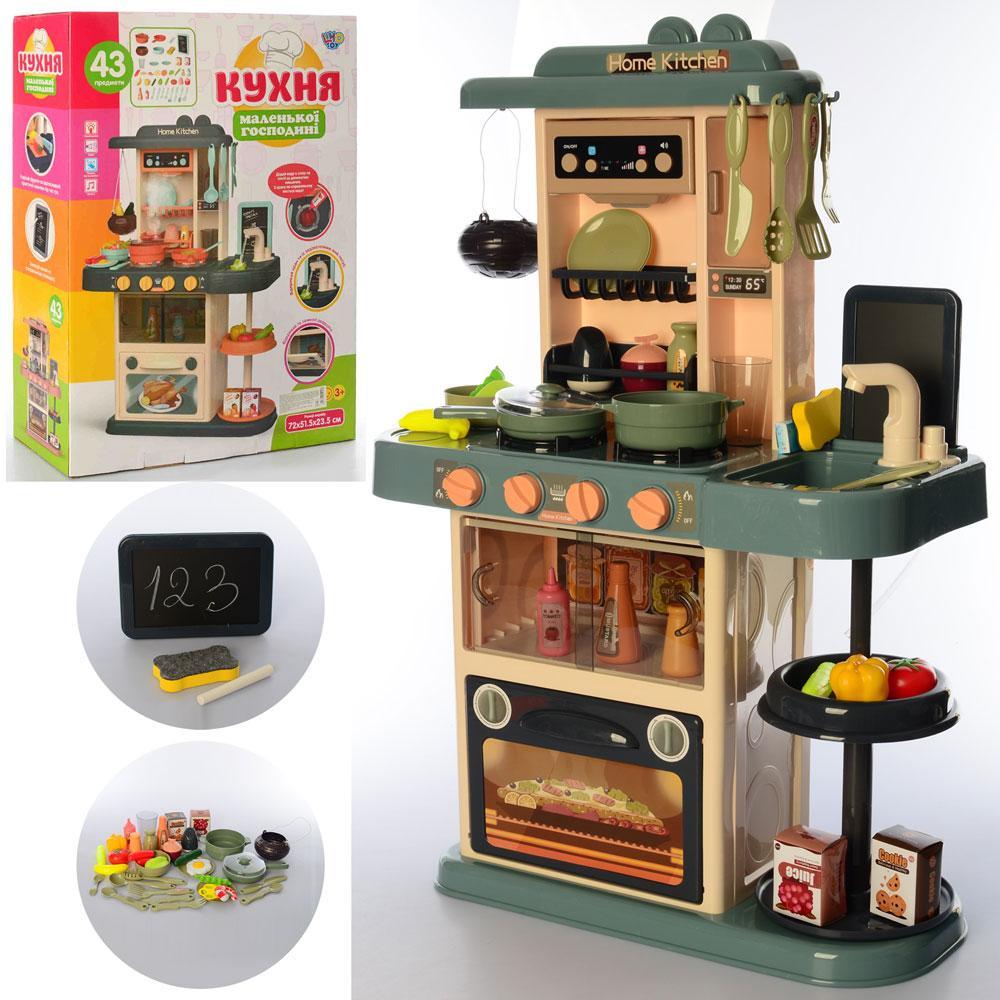 ТОП продаж! Кухня 889-183 – детский игровой набор льется вода свет, звук