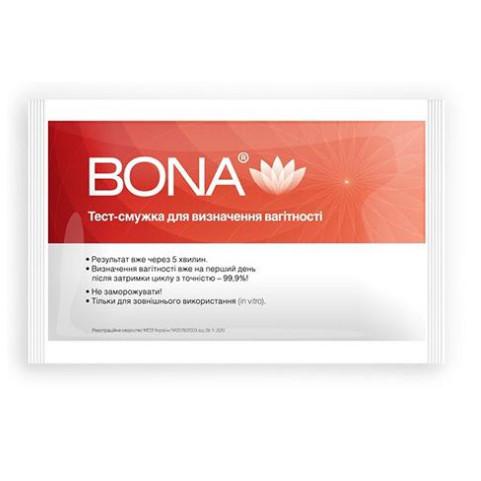 """Тест-смужка для визначення вагітності """" BONA"""