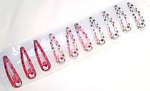 Шпильки для волосся тік-так/хлопавки 5 см Hello Kitty 10 шт