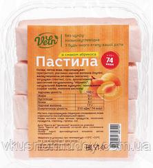 Пастила низкокалорийная VELN™ со вкусом Абрикоса (110 грамм)