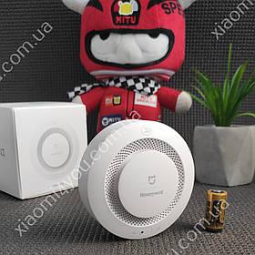 Датчик дыма Xiaomi MiJia Honeywell Smoke Detector fire alarm пожарная сигнализация умный дом +батарейка