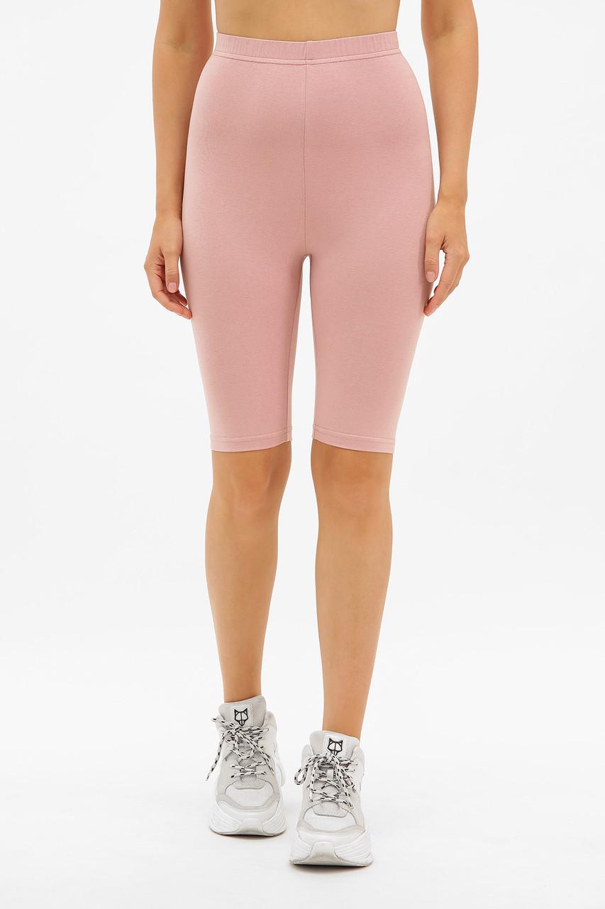 Женские шорты велосипедки розовые Хизер