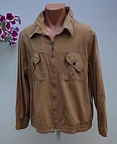 Мужская куртка ветровка размер наш 58 (Р-45), фото 3
