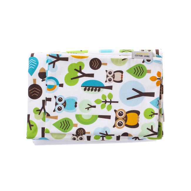 Cotton Living - Комплект постельного белья в кроватку Forest Owls