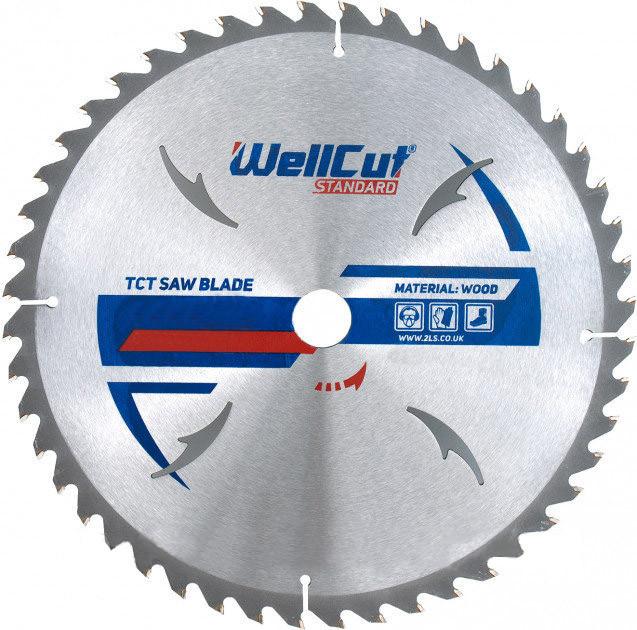 Диск пильный WellCut Standard 180x22.23  30Т