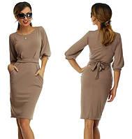 Платье женское Фонарик капучино , вечерние платья