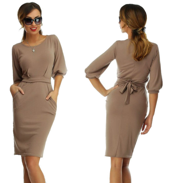 dfcf71c6eefd25b Платье женское Фонарик капучино , вечерние платья: продажа, цена в ...