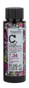 Краска для волос без аммиака Nouvelle LIQUID TONER, 60 ml
