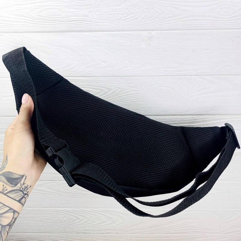Бананка Мужская | Женская | Детская поясная сумка Puma черная, фото 2